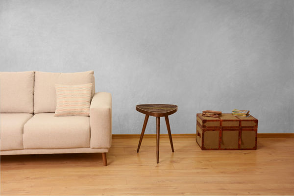 Picture of Nancy's Buffalo Grove Side table - Design - Brown - Fabricated Wood - 45 cm x 45 cm x 45 cm