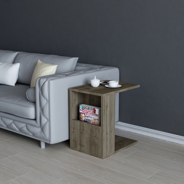 Picture of Nancy's Stephenville Coffee Table - Modern - Brown - Fabricated Wood - 40 cm x 30 cm x 50 cm