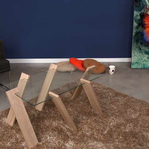Picture of Nancy's Pine Hills Coffee Table - Design - Brown - Fabricated Wood - 57 cm x 92 cm x 41 cm