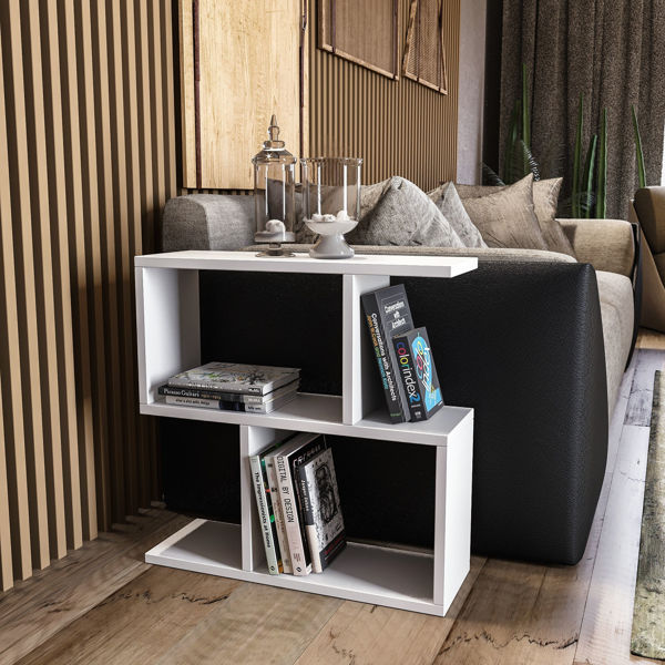 Picture of Nancy's West Islip Side table - Modern - White - Fabricated Wood - 20 cm x 60 cm x 60 cm
