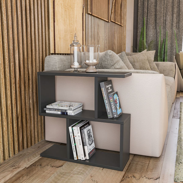 Picture of Nancy's West Chicago Side Table - Modern - Grey - Fabricated Wood - 20 cm x 60 cm x 60 cm