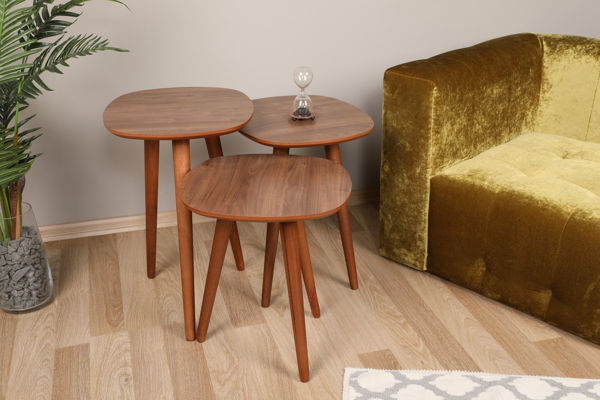 Picture of Nancy's Olympia Heights Side table - Design - Brown - Fabricated Wood - 39 cm x 41 cm x 59 cm