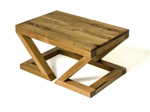 Picture of Nancy's Catalina Foothills Coffee Table - Design - Brown - Pinewood, Oak Wood - 50 cm x 80 cm x 40 cm