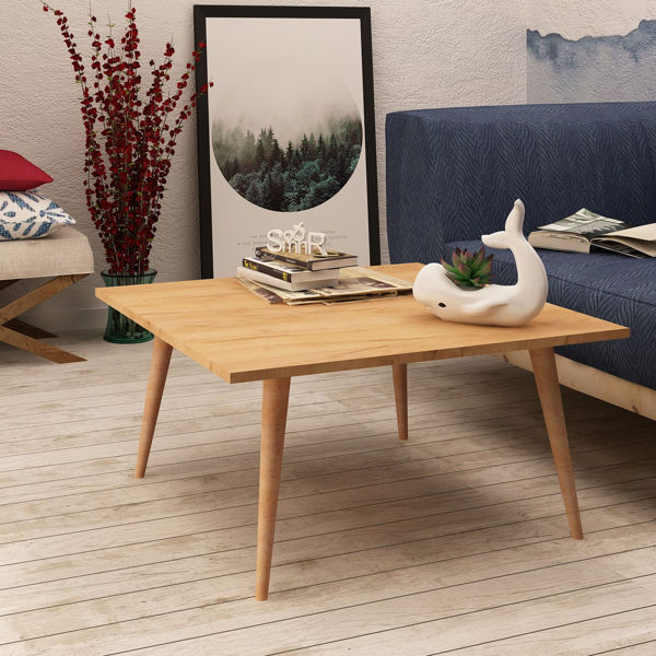 Picture of Nancy's Trujillo Alto Coffee Table - Industrial - Brown - Fabricated Wood - 80 cm x 80 cm x 42 cm