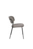 Picture of Nancy's Hawthorn Woods Chair - Retro - Black, Grey - Polyester, Steel, Plywood - 56 cm x 49 cm x 78 cm