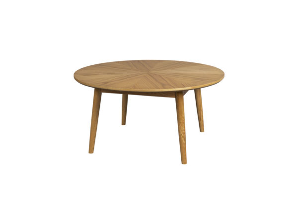 Picture of Nancy's Red Bank Coffee table - Modern - Natural, Brown - Oak, Mdf - 80 cm x 80 cm x 40 cm
