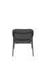 Picture of Nancy's Wanaque Lounge Chair - Industrial - Dark Grey, Black - Polyester, Plywood, Steel - 60 cm x 56 cm x 68 cm
