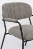 Picture of Nancy's Cordele Lounge Chair - Industrial - Black, Grey - Polyester, Plywood, Steel - 61 cm x 69.5 cm x 73 cm