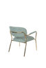 Picture of Nancy's Clute Lounge Chair - Industrial - Gold, Light Green - Polyester, Plywood, Steel - 61 cm x 69.5 cm x 73 cm