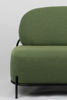 Picture of Nancy's Seven Hills Lounge Chair - Industrial - Green, Black - Polyester, Plywood, Iron - 71.5 cm x 125 cm x 77 cm