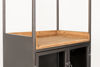 Picture of Nancy's Yeadon Cabinet - Industrial - Natural, Grey, Brown - Wood, Mdf, Iron - 40 cm x 60 cm x 171 cm
