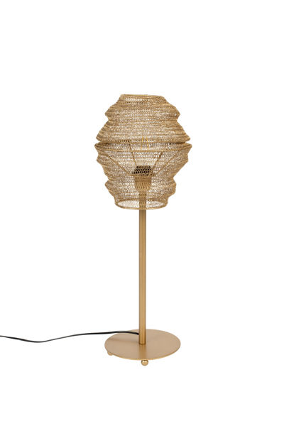 Picture of Nancy's Signal Hill Table Lamp - Modern - Brass - Iron - 27 cm x 27 cm x 69 cm