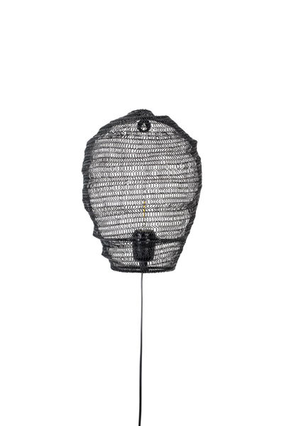 Picture of Nancy's The Pinery Wall Lamp - Modern - Black - Iron - 31 cm x 24 cm x 12 cm