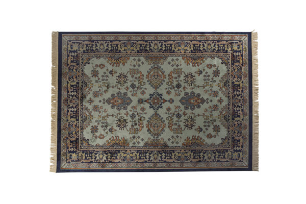 Picture of Nancy's Muskegon Heights Carpet - Classic - Green - Viscose, Polyester, Cotton - 200 cm x 300 cm x  cm